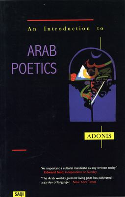 An Introduction to Arab Poetics 9780863563317