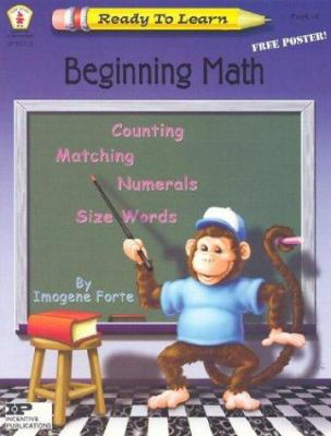 Beginning Math [With Poster] 9780865305946