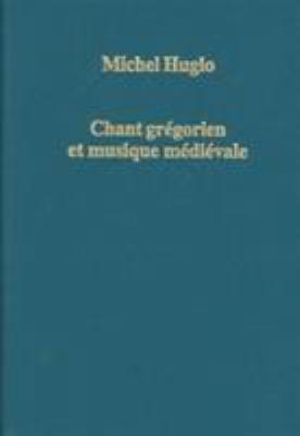Chant Gregorien Et Musique Medievale 9780860789505