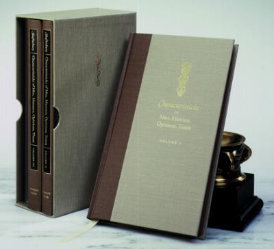 Characteristicks of Men, Manners, Opinions, Times 3 Volume Set