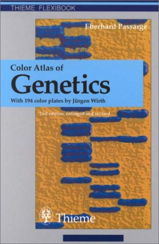 Color Atlas of Genetics (Flexibook) 9780865779587