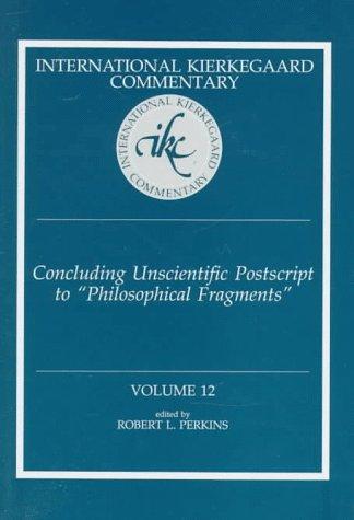 Concluding Unscientific PostScript 9780865545755
