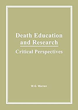 Death Education and Research 9780866568142