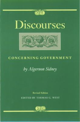 Discourses Concerning Government 9780865971424