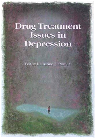 Drug Treatment Issues in Depression 9780864710758
