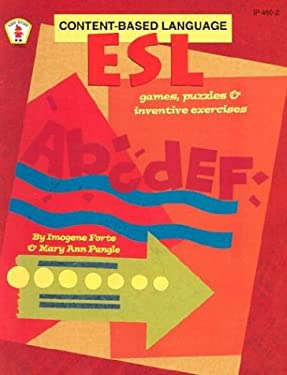 ESL Content-Based Language Games, Puzzles, and Inventive Exercises 9780865304871