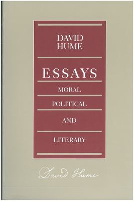 Essays Moral Political Literary 9780865970564