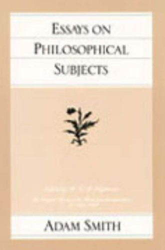 Essays on Philosophical Subjects 9780865970236