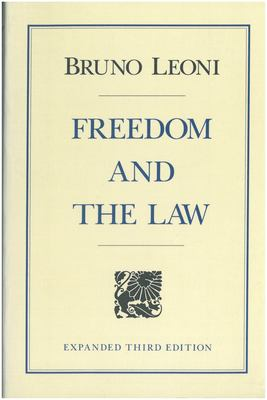 Freedom and the Law 9780865970977
