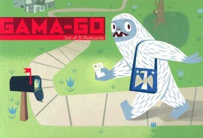 Gama-Go: Set of 31 Postcards