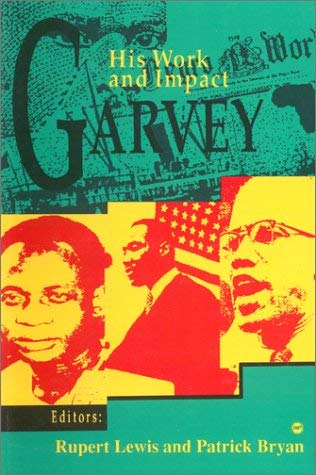 Garvey: His Work and Impact 9780865432246