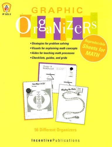 Graphic Organizers for Math 9780865300361