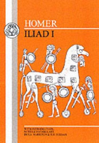 Homer: Iliad I 9780862920234