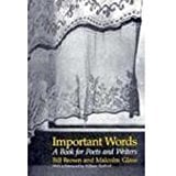 Important Words: A Book for Poets and Writers 9780867092714