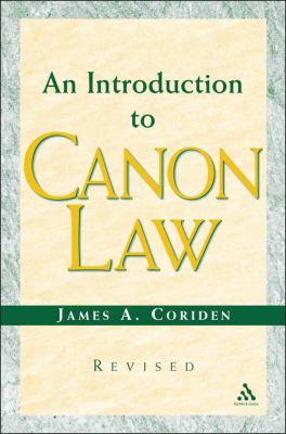 Introduction to Canon Law Revised Edition 9780860123743