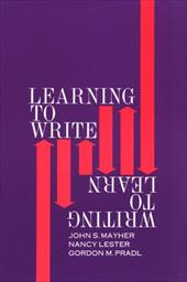 Learning to Write/Writing to Learn 3810154