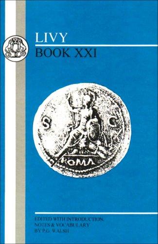 Livy: Book XXI 9780862921781