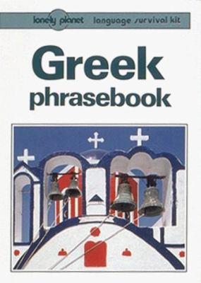 Lonely Planet Greek Phrasebook 9780864422613