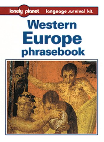 Lonely Planet Western Europe Phrasebook 9780864425164