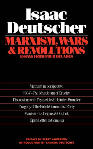 Marxism, Wars, and Revolutions: Essays from Four Decades 9780860918035