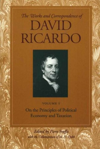 On the Principles of Political Economy and Taxation 9780865979659