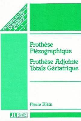 Piezographic Prothesis 9780861961412