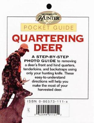 Quartering Deer: Pocket Guide 9780865734777