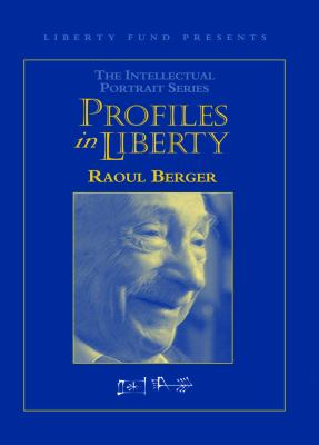 Raoul Berger Profile in Liberty DVD 9780865976139