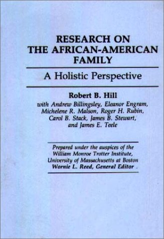 Research on the African-American Family: A Holistic Perspective 9780865690196
