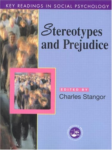 Stereotypes and Prejudice: Key Readings 9780863775895