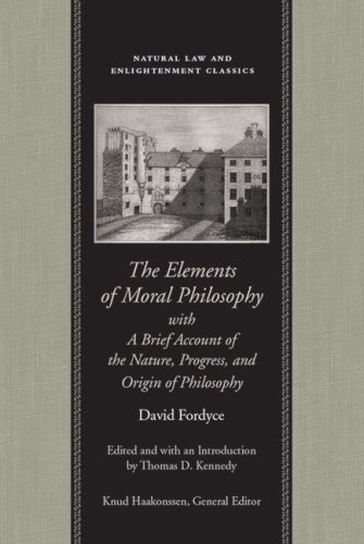 The Elements of Moral Philosophy, in Three Books with a Brief Account of the Nature, Progres, and Origin of Philosophy 9780865973909
