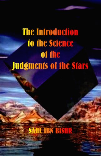The Introduction to the Science of the Judgments of the Stars 9780866905817