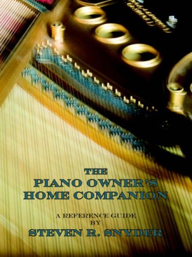 The Piano Owner's Home Companion 9780865345140