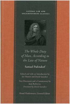 The Whole Duty of Man, According to the Law of Nature 9780865973749