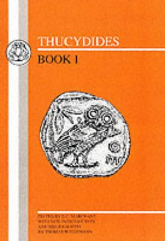 Thucydides: Book I 9780862920272