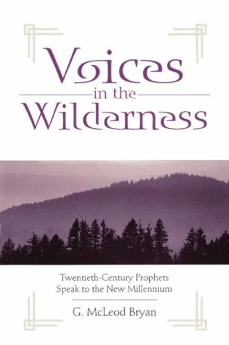 Voices in the Wilderness 9780865546394