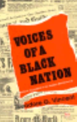 Voices of a Black Nation: Political Journalism in the Harlem Renaissance 9780865432031