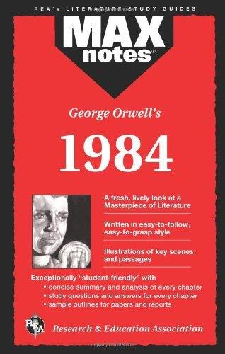 1984 (Maxnotes Literature Guides) 9780878919963