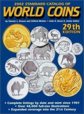 2002 Standard Catalog of World Coins 9780873492430