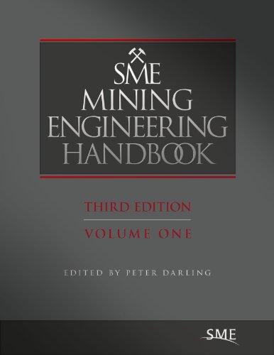 Sme Mining Engineering Handbook 9780873352642