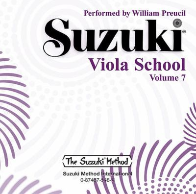 Suzuki Viola School, Vol 7