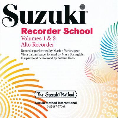 Suzuki Recorder School: Volumes 1 & 2 Alto Recorder 9780874875706