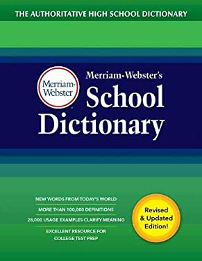 Merriam-Webster's School Dictionary, New Edition, 2020 copyright