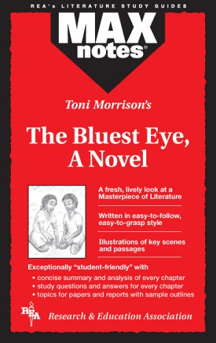 Bluest Eye, The, a Novel (Maxnotes Literature Guides) 9780878910083