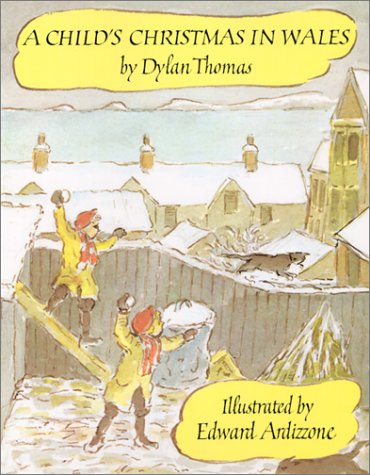 A Child's Christmas in Wales 9780879233396