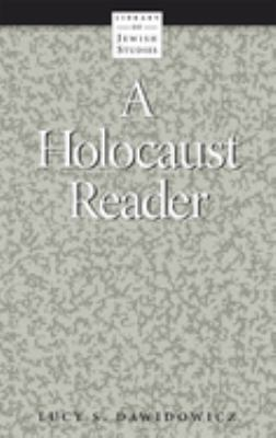 A Holocaust Reader 9780874412369