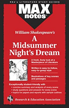 Midsummer Night's Dream, a (Maxnotes Literature Guides) 9780878910304