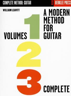 A Modern Method for Guitar: Volumes 1, 2, 3 Complete 9780876390115