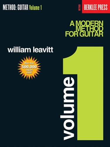 A Modern Method for Guitar - Volume 1: Guitar Technique 9780876390139