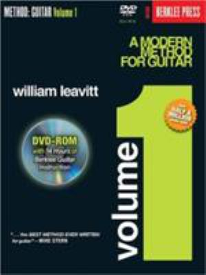 A Modern Method for Guitar Volume 1 [With DVD] 9780876390696